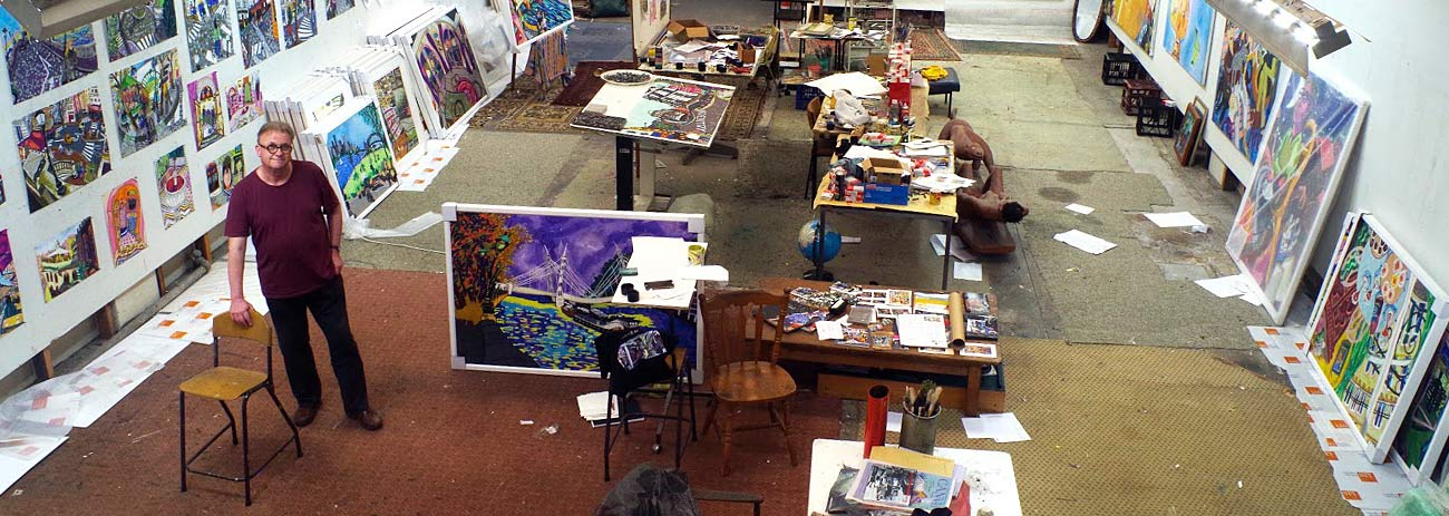 The studio of Bernard Ollis